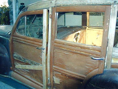 1946 Mercury Woody Wood Replacement